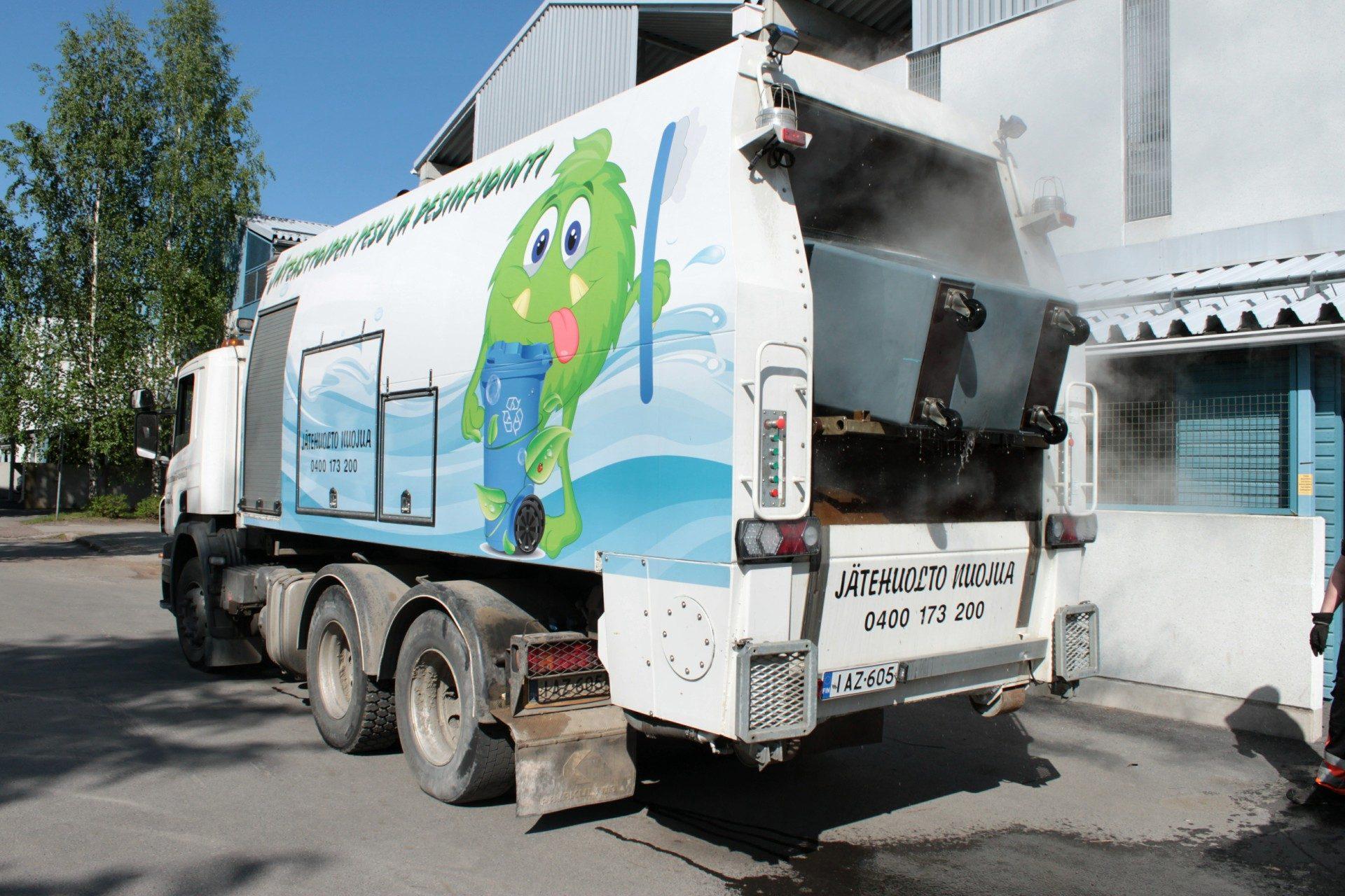 Jäteastioiden pesu- ja desinfiontipalvelut
